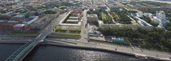 "RBTA's Principal Ricardo E. Bofill attended the launch of the promotional campaign for YIT Group residential development ""Smolny"" in Saint Petersburg, a new landmark overlooking the Neva River on the same embankment as the Hermitage Museum."
