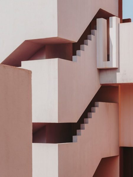 Barcelona based photographer Salva López captures the beauty of La Muralla Roja for Gestalten.